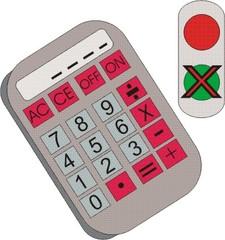 Taschenrechner - verboten - Taschenrechner, im Kopf rechnen, Hilfsmittel, Mathematik, verboten, Verbot, Kopfrechnen