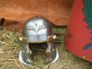 Römerhelm - Rom, Römer, Helm, Waffen, Krieg, Kampf, Ausrüstung