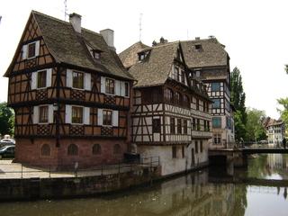 Fachwerkhäuser in Straßburg - Straßburg, Strasbourg, Fachwerkhaus, Fachwerkhäuser, Frankreich, Elsass, Alsace