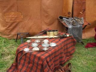Ausrüstungsgegenstände eines Kriegers - Rüstung, Kampf, Rom, Römer, Ausrüstung