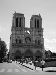 Notre-Dame de Paris - Notre-Dame de Paris, Kathedrale, Paris, Sehenswürdigkeit, Glöckner, Gotik, Frankreich, Kirche