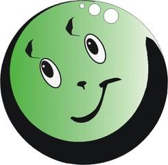 Kugel, grün - Kugel, grün, rund, Wahrscheinlichkeit