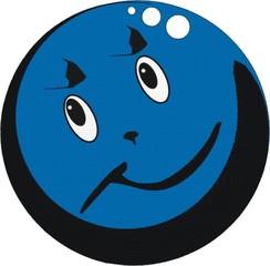 Kugel, blau - Kugel, blau, rund, Wahrscheinlichkeit