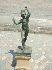 Faun - Italien, Römer, Pompei, Vesuv, Faun, Skulptur, Villa