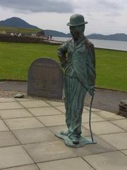 Charlie Chaplin - Charlie Chaplin, Waterford, Irland, Statue