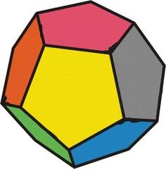 Dodekaeder - Würfel, 12, zwölfseitig, regelmäßig, würfeln, Wahrscheinlichkeit, Dodekaeder, Fünfeck, Körper, Polyeder