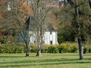 Goethes Gartenhaus - Weimar, Goethe, Klassik, Herbst, Garten, Gartenhaus