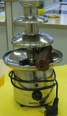 Schokoladenbrunnen - Schokoladenbrunnen, Schokolade, schmelzen, überziehen, eintauchen, dekorativ, Transportschnecke
