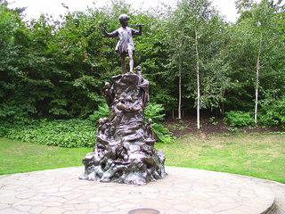 Peter Pan Statue - London, Hyde Park, Peter Pan, Park, Statue