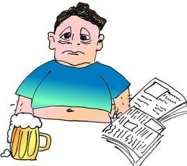 dicker mann - Mann, Bier, dick, Wörter mit ck, Wörter mit Doppelkonsonanten