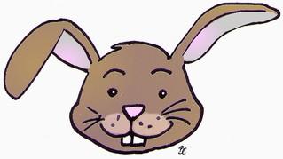 Hase - Humor, Tier, Hase, Nagezahn, freundlich, Anlaut H, Illustration