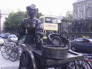 Molly Malone - Landeskunde, Irland, Dublin, Molly Malone