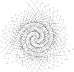 Geometrische Figuren mit Turtle #8 - Mathematik, Informatik, Turtle, Turtle-Grafik, Geometrie, Geometrische Figur, Grafik, Spirale