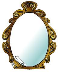 Spiegel - Märchen, Sage, Spiegel, Haushalt, Wohnen, Einrichtung, Schminken, Frisör, Anlaut Sp