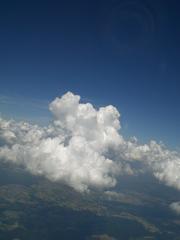Wolkenformation - Wolken, Cumulus nimbus, Wolkenform, Wetter, aufquellen, Schönwetterwolke