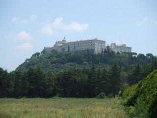 Kloster Monte Cassino - Kloster, Architektur, Lazio, Italien, Monte Cassino, Montecassino, Mittelalter