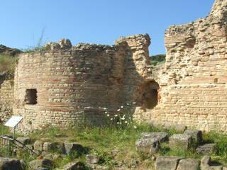 Römische Thermen - Therme, römisch, Rom, Italien, Architektur, Antike, Badehaus, römisches Reich