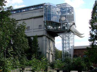 Maximilianpark Hamm - Elefant, Glas, Maximilianpark, Hamm, Route Industriekultur, Freizeit, NRW, Ruhrgebiet