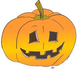 Kürbis - Kürbis, Gemüse, Herbst, orange, Halloween, Horror, erschrecken, Gesicht, Jahreszeit, jack o'lantern, Pumpkin, Kürbisgeist, schnitzen, gruselig