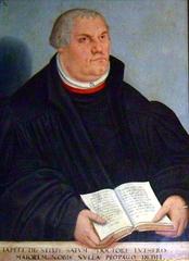 Lutherbild - Luther, Martin Luther, Gemälde, Religion, Reformator, Protestant, evangelische Kirche, Augustinermönch, Theologieprofessor