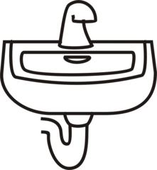 Waschbecken - Waschbecken, waschen, Anlaut W, Bad, Badezimmer
