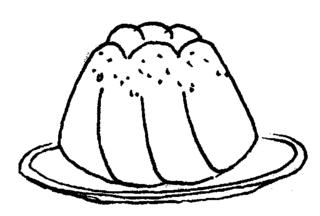 Kuchen - Kuchen, Gugelhupf, backen, süss, Anlaut K