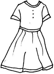 Kleid - Kleid, Sommerkleid, Anlaut K