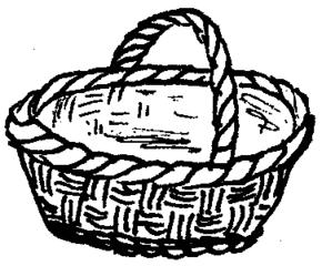 Korb - Korb, einkaufen, Einkaufskorb, Anlaut K