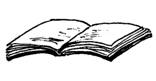 Heft - Heft, schreiben, lesen, Papier, Illustration, Anlaut H