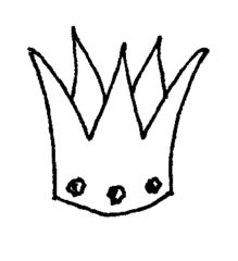 Krone - Krone, König, Märchen, Sage, Schmuck, Kopfschmuck, Illustration, Anlaut K