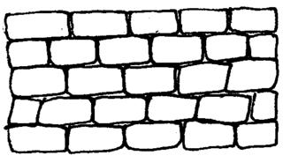 Mauer - Mauer, Anlaut M, Ziegel, Steine, Mauersteine, Mauerwerk, Baukörper