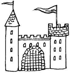 Burg - Burg, Wehrbau, Festung, Anlaut B