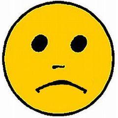Smiley traurig - Smiley, Zeichen, Bewertung, Button, Symbol