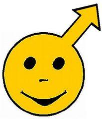 Smiley Junge2 - Button, Symbol, Zeichen, Smiley, Junge