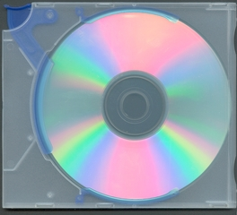Compact disc - CD, CD-Rom, Compact disc, Speichermedium, CDR, DVD, rund, Kreis, Verpackung, schillern, irisieren