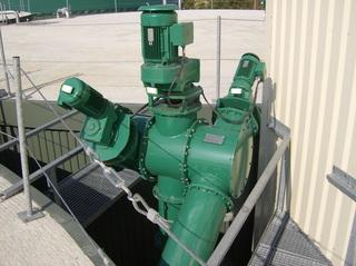 Biogasanlage #7 - Verteilerschnecke, Biogasanlage, Transport, Biomasse, Fermenter