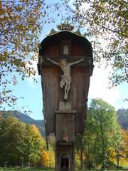 Kruzifix - Flurkreuz - Kruzifix, Kreuz, Religion, Christus, Symbol, Kirche, Wegweiser, Kreuzigung, Wegkreuz, Marterl