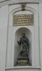 Petrusstatue - Petrus, Statue