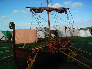 Wikingerschiff (Rekonstruktion) - Wikingerschiff, Segelschiff, Geschichte, Wikinger