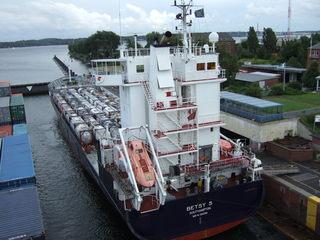 Brunsbüttel Schleuse Kiel NOK #2 - Verkehr, Wasser, Nord-Ostsee-Kanal, heben, senken
