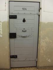 Gefängnistür #1 - Berlin, Hohenschönhausen, Gefängnis, Zelle, Stasi, DDR, Politik, Gefangene, Tür