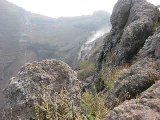 Der Krater des Vesuv - Italien, Neapel, Vesuv, Krater