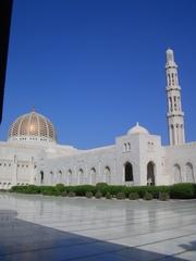 Sultan Qaboos Moschee - Moschee, Islam, Freitagsgebet, Teppich, Minarett, Arabische Halbinsel, Oman, Sultan