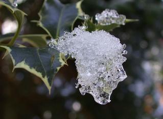 Eisgesicht - Eis, Schnee, Gesicht, Fantasie, Tauwetter, tauen, Kristalle, kalt