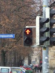 Ampelmännchen - Ampel, Verkehr, Ampelmännchen, Schild, rot
