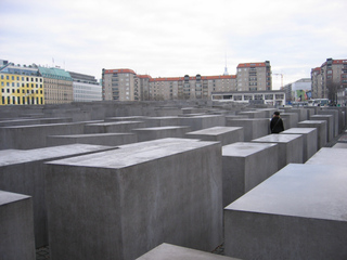 Denkmal für die ermordeten Juden Europas #2 - Mahnmal, Denkmal, Holocaust, Stelen, Stelenfeld