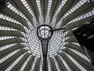 Sony-Center - Dach - Dach, Architektur, Glas, Berlin, Sony Center