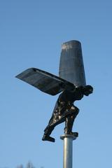 Ikarus - modern - moderne Skulptur, Ikarus, fliegen