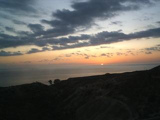Zypern - Sonnenuntergang - Sonnenuntergang, Meer, Zypern, Griechenland, Türkei, Wolken, abend, Abenstimmung