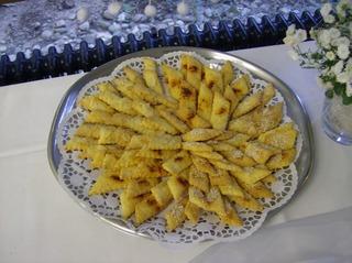Pikantes Gebäck - Gebäck, salzig, Mürbteig, Sesam, Käse, Paprika